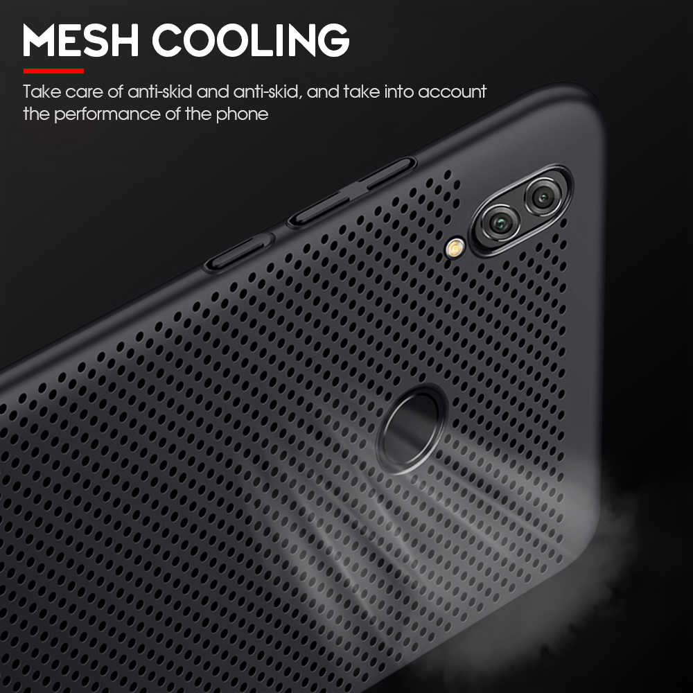 Tản nhiệt Ốp Lưng Điện thoại Huawei Enjoy 8E 8 Plus Chơi 7 Y5 Y6 Y7 Y9 Prime Pro 2018 2019 ốp Lưng Cho Danh Dự 7A 7C Pro