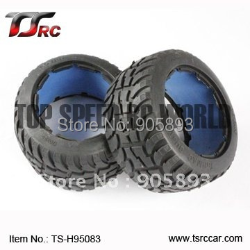 5B Rear  Highway-road Tire Set(TS-H95083)x 2pcs for 1/5 Baja 5B, without inner foam,wholesale and retail baja 5b dirt tire set 2pc front 2pc rear