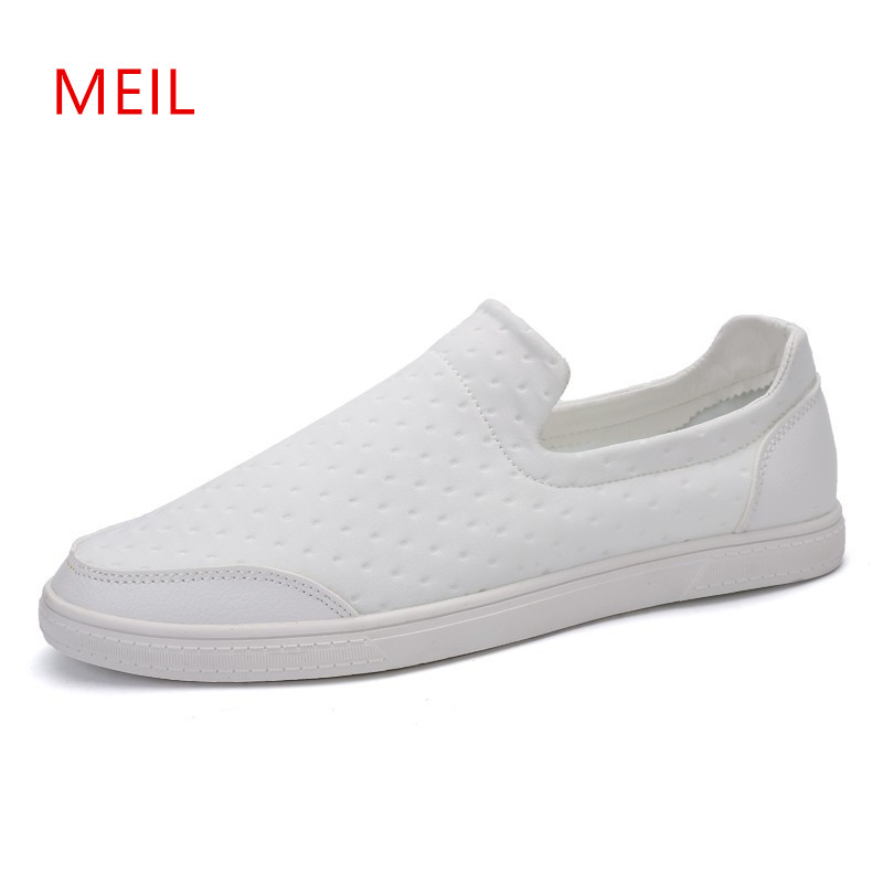 Brand Summer Casual Breathable Slip On Shoes Men Loafers Black White Red Shoes Men Sneakers Mens Shoes Casual Mesh Trainers new mens shoes casual black sneakers leather shoes men loafers white platform driving shoes for men trainers chaussures hommes