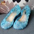 Monkids 2016 Beautiful Girls Shoes Princess Kids Sandals Crystal Girls Shoes Princess Girls Sandals Dancing Children Sandals