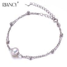 Small fresh summer pearl bracelet women natural freshwater Circular for