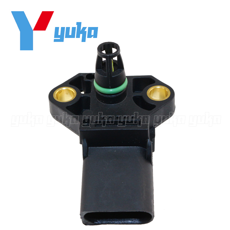 MAP Sensor Intake Air Boost Pressure Manifold Absolute Druck Sender For VW BORA CADDY III Estate Box 1.8 T 1.9 TDI 2.0 SDI