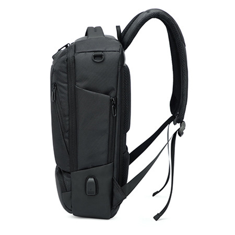 Casual Multifunction Waterproof Men Laptop Anti Theft Password lock Backpack USB Charge Business Backpacks College Bags for Male - 3