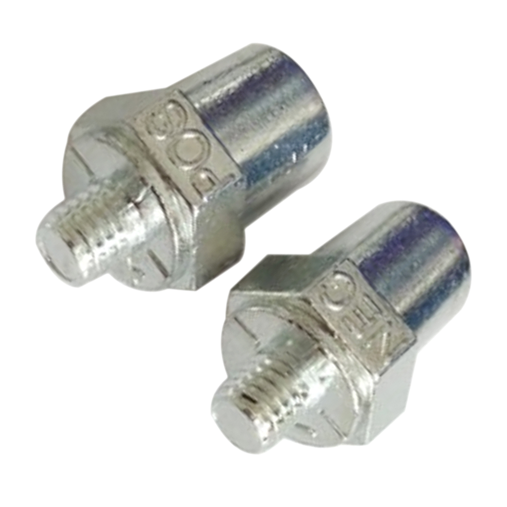 2 조각 유니버설 긍정적 인 부정적인 자동차 배터리 터미널 클램프 클립 커넥터 실버 내식성 배선 편리