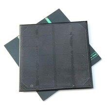 BUHESHUI Mini Solar Cell Solar Module 2W 6V DIY Monocrystalline Solar Panel For Battery Charger 24pcs Wholesale Free Shipping
