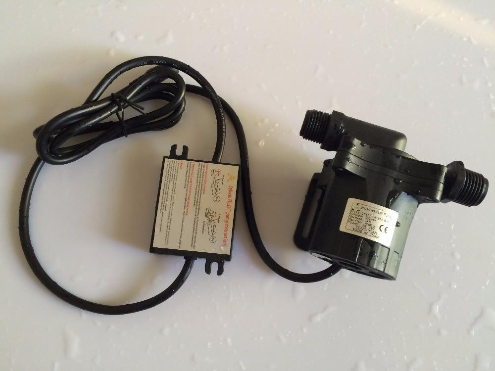 24Vdc Micro Solar Circulation Pump 50F-24150S 1560LPH 15M 100C Brushless DC 86.4W For Water cooling circulation system недорго, оригинальная цена