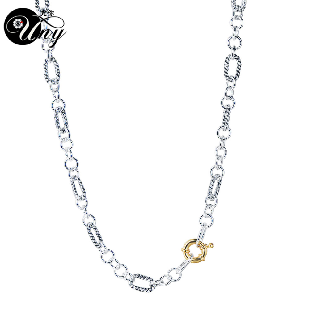 UNY Necklaces Designer Fashion Inspired Classic Necklace woman ...