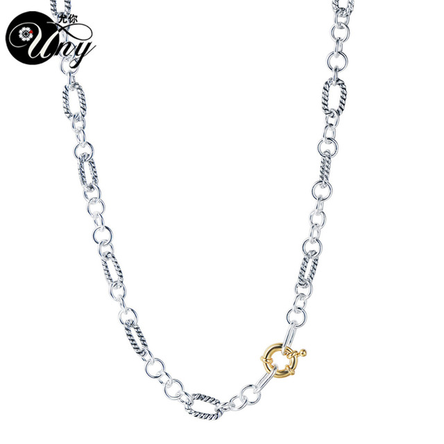 Uny Necklaces Designer Fashion Inspired Classic Necklace Woman