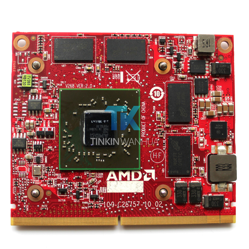 V268 109-C28757-00 Video Card for DELL HD7650A 2320 I2330 laptop 2GB Graphic Card