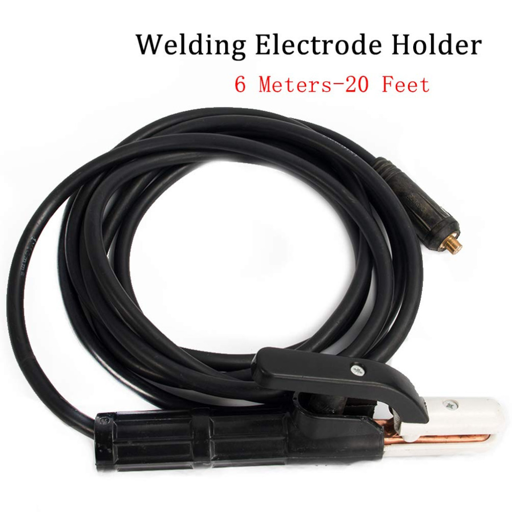 Electrode Holder for Welding Machine 6 Meters for Welder MMA ARC Equipment 300A