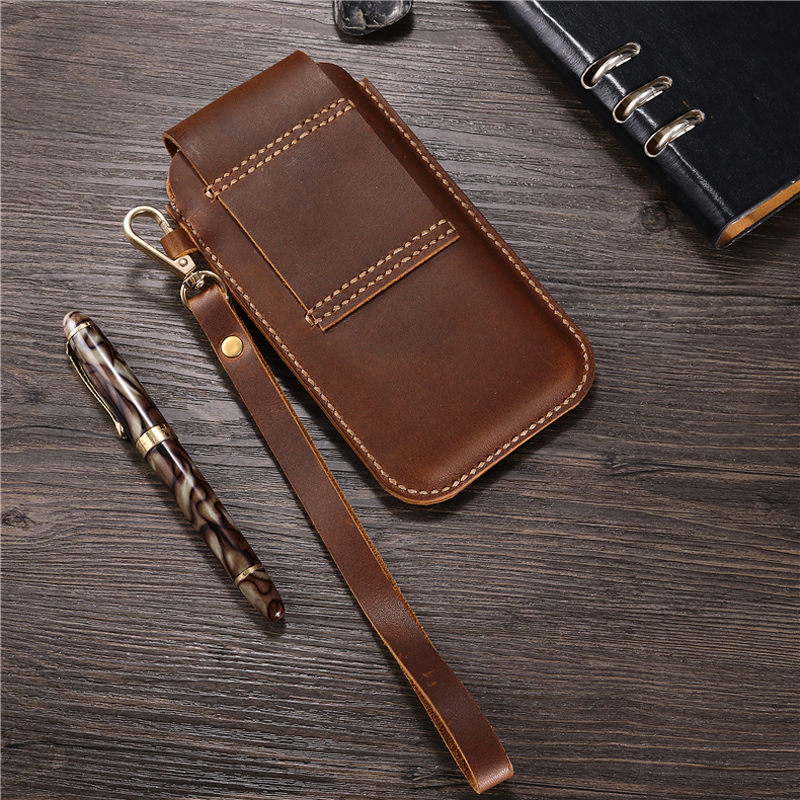 for Xiaomi Black Shark 3 Shark 3 Pro Belt Clip Holster Case Cover for Xiaomi Mi 10 Lite Genuine Leather Waist Bag Coque