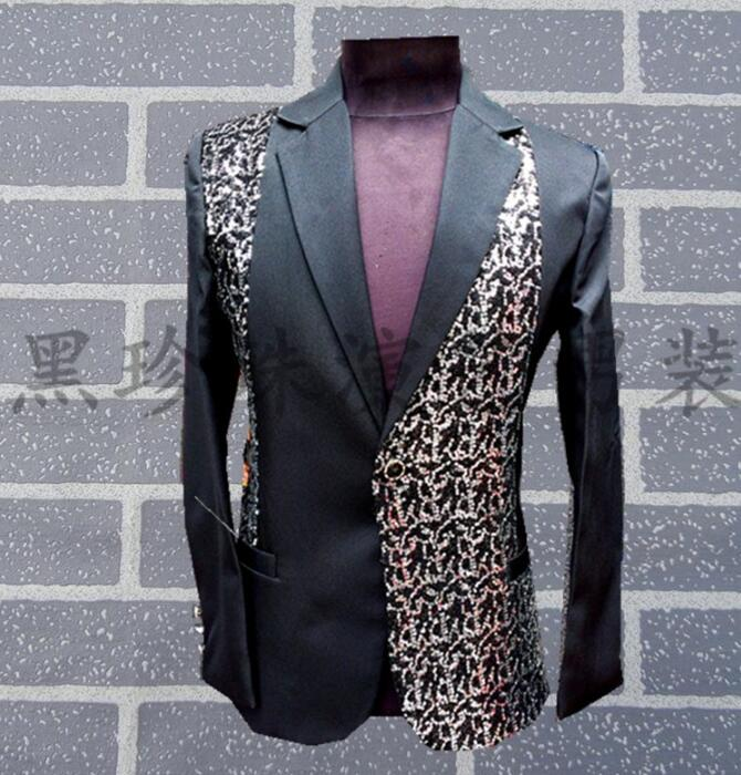 Aliexpress.com   Buy Black red men suit designs masculino stage costumes  for singers men sequin blazer dance clothes jacket style groom formal dress  from ... 1d7c94f8e718