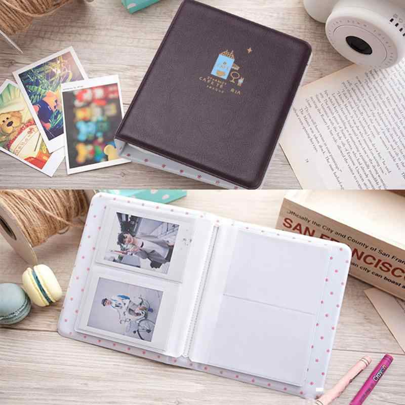 64 Pockets Foldout Album Photo Picture Case Container For FujiFilm Instax Mini 8 Case Photo Album Instax Fashion Modern Album