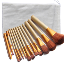 Makeup brushes 7 12 Pcs wooden handle Brushes eye shadow brush Professional kabuki kit set maquiagem makeup brushes