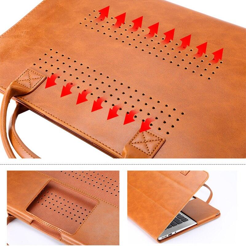 שליכט אקרילי עבור מזוודה נייד עור PU Macbook Air 11 13 אייר 13 פרו 15 פרו