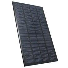 18 v 2.5 w Policristalino Do Painel Solar Sistema de Células Solares Módulo De Potência de Energia Armazenada Carregador