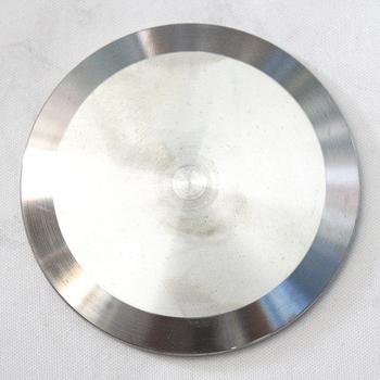 38 MM 1 5 #8221 sanitarnych zaślepka pasuje 1 5 #8243 potrójny zacisk kołnierza ferromagnetycznego 50 5 MM ze stali nierdzewnej SUS SS 304 tanie i dobre opinie Spawanie STAINLESS STEEL Równe Odlewania End Cap round