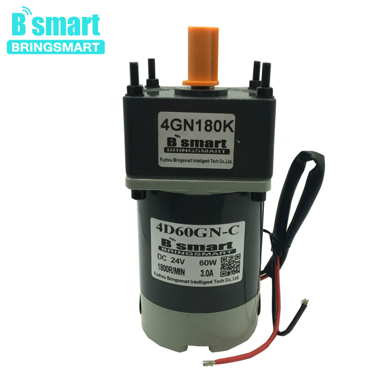 12V 24V DC Gear Motor Low Speed 10-600RPM Reversed High Torque Electric Motor 12V 60W Electronic Load For Automation Equipment12V 24V DC Gear Motor Low Speed 10-600RPM Reversed High Torque Electric Motor 12V 60W Electronic Load For Automation Equipment