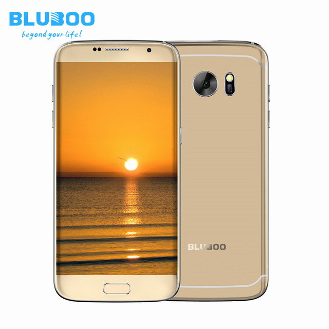 BLUBOO Edge 5.5 Inch HD Quad Core 4G Smartphone Android 6.0 2G RAM 16G ROM 1280*720 8MP Camera Fingerprint Unlock Mobile Phone