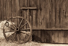 Laeacco Farm Wooden Board Door Hay Stack Wheel Photography Backgrounds Customized Photographic Backdrops For Photo Studio