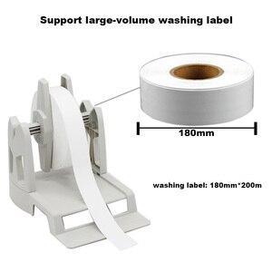 Image 4 - Transfert thermique imprimante détiquettes à laver étiquette solution avec porte papier ruban et soie vêtements étiquette facile pour limpression