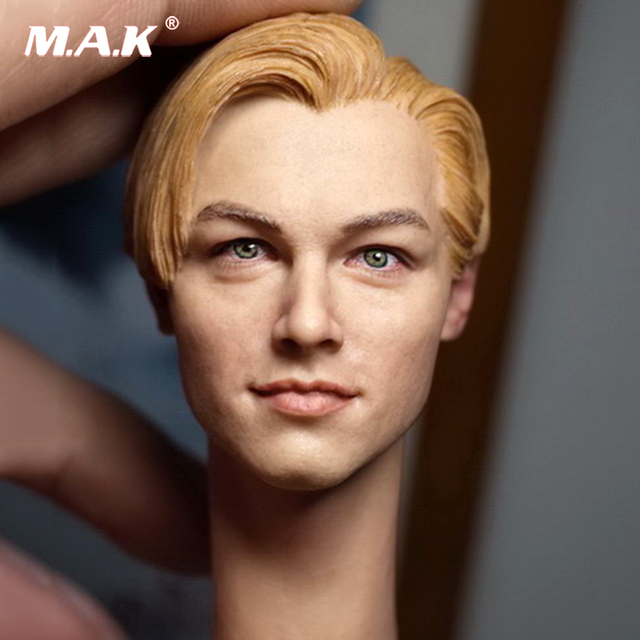 16 Soldier Model Male Leonardo Dicaprio Head Carving Handsome Male