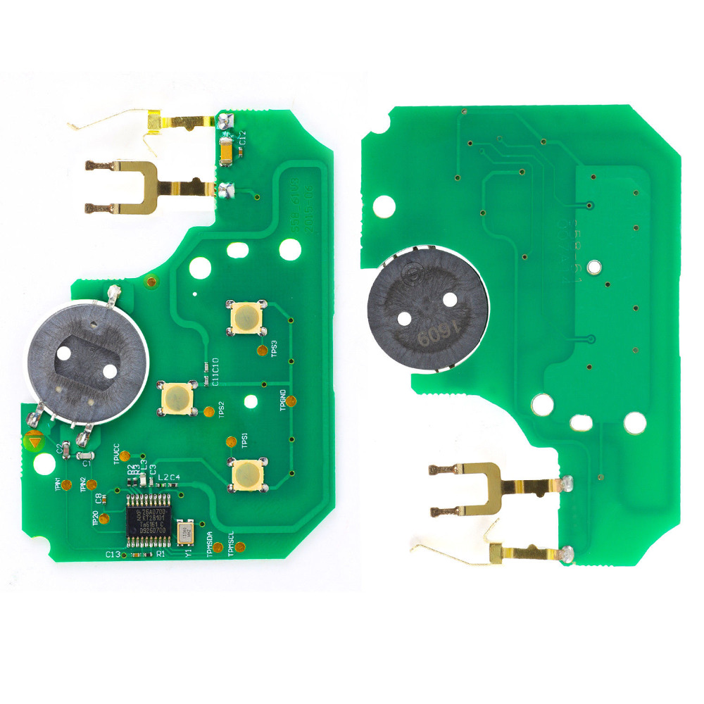 KEYECU Замена дистанционный ключ 3 кнопки 433 МГц ID46 для Renault Megane Scenic 2003 2008 10 шт./лот - 5