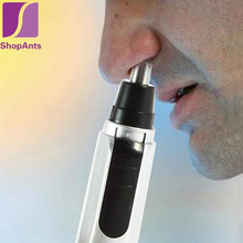 1 Pcs Nose Hair Trimmer Portable Neat Clean Trimer Nose Ear Face Removal Shaving Hair Trimmer Electric Shaver Clipper Cleaner