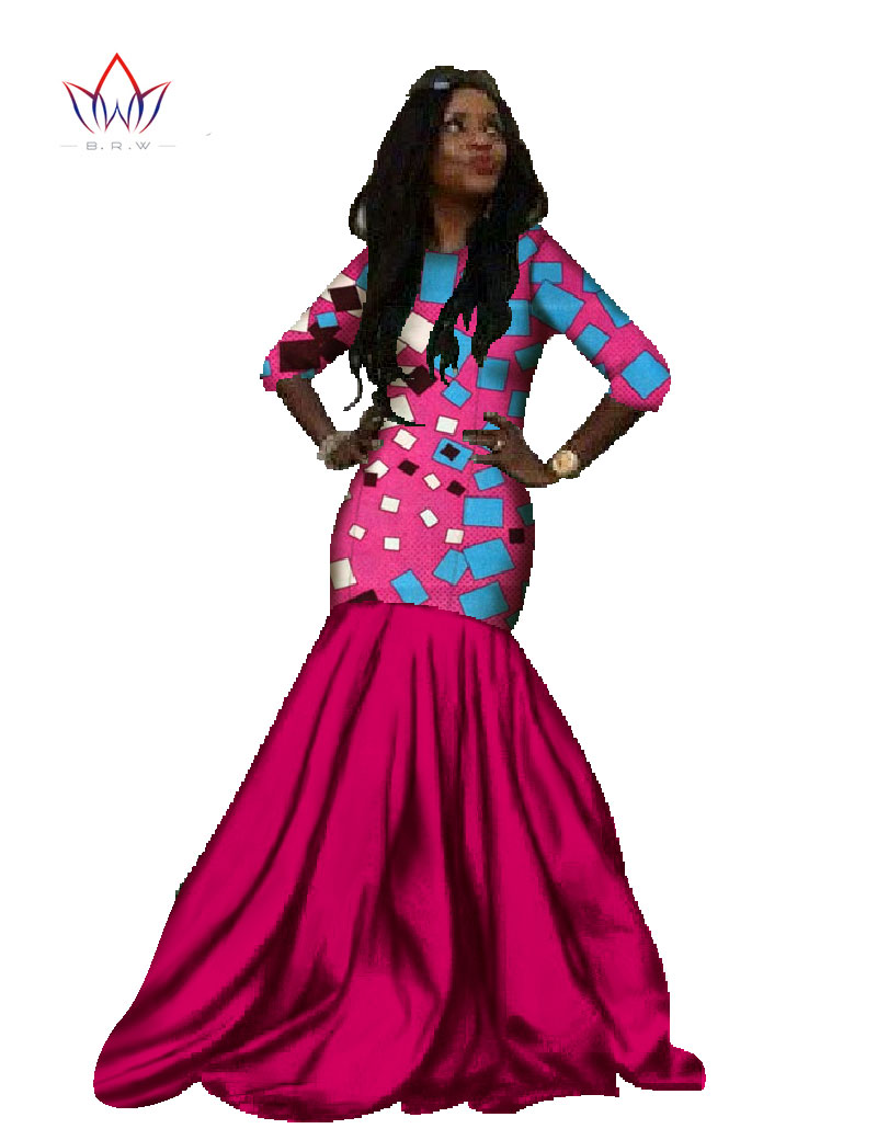 Aliexpress.com : Buy New Spring African Dresses for Women Mermaid ...
