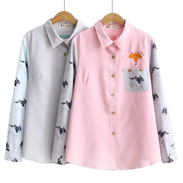 4d2f38cc6d Aliexpress Monikubu ponad duży plus size odzież damska moda casual print  koszule bluzki top dla kobiet