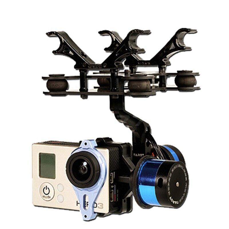 Tarot T-2D sans brosse cardan Gopro 3 photographie aérienne TL68A08 sans brosse caméra cardan 50% de réduction