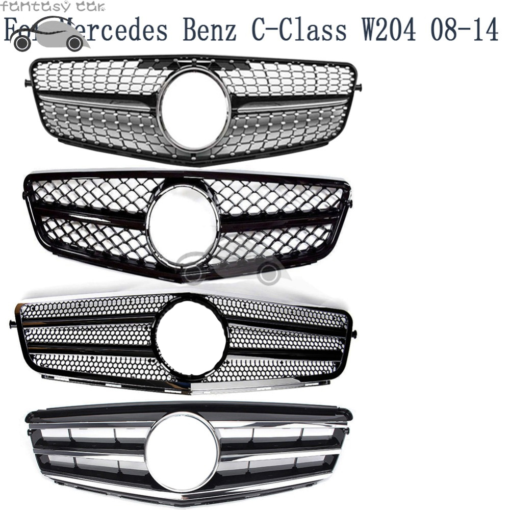 Fit for Mercedes Benz C CLASS W204 2008 2009 2010 2011 2012 2013 2014 DIAMOND AMG