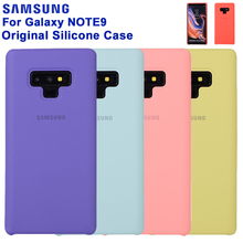 SAMSUNG Original Silicone Case Phone Cover for Samsung Note9 Note 9 Fashion Soft Shockproof Mobile case