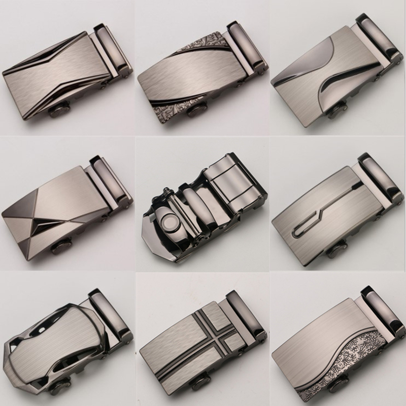 Automatic Belt Buckle For Men Without Body High Quality Alloy Designers Fashion Male Brand Luxury Suitable Width 3.5CM Belts