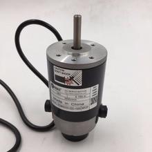 Leadshine Brush DC Servo Motor DCM50202-02D-1000 24VDC 50W 3500rpm 1000-Line Encoder New
