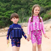 Swimsuit One Piece Bathing Suit Swimsuit Beachwear Children Girl Inflatable Pool Float Swimwear for Boys and Girls