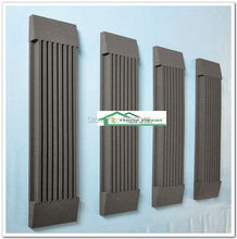 New item acoustic foam soundproof panel studio absorbers 4pcs size 120*30*7.5cm Black color