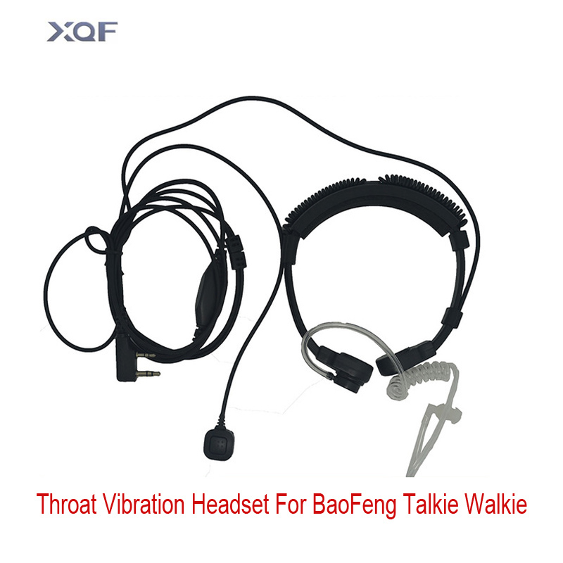 New Upgraded Adjustable Throat Microphone Throat Vibration