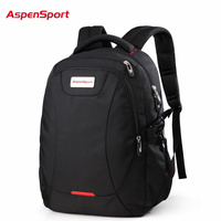 AspenSport Top Brand Waterproof Fashion Backpack Unisex Men S Backpacks For Laptop Women Notebook Bag Backpack