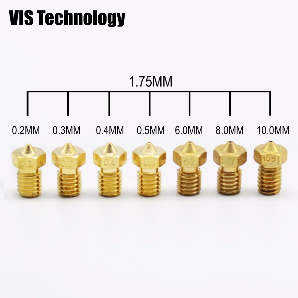 3D Printer Nozzle Drill Bit Cleaning Kit for RepRap MakerBot 0.2//0.3//0.4//0.5mm