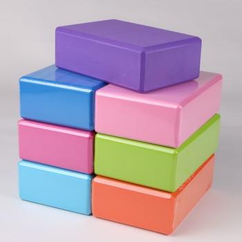 Блок для Йоги (23x15x7,6 см/8 цветов) высокой плотности из ЭВА