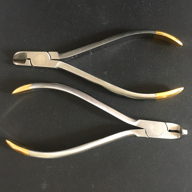 Dentist Pliers Distal End Cutter Dental Filaments Tungsten Carbide Inserts Brand Jaws Arch Cutting Orthodontic Instruments