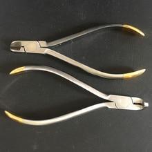 Zahnarzt Zangen Distal End Cutter Dental Filamente Hartmetall Einsätze Marke Jaws Arch Schneiden Kieferorthopädische Instrumente