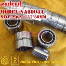 Игольчатый роликовый подшипник ZOKOL NA6904 A NA6904A, 20*37*30 мм RNA6904A 25*37*30 мм