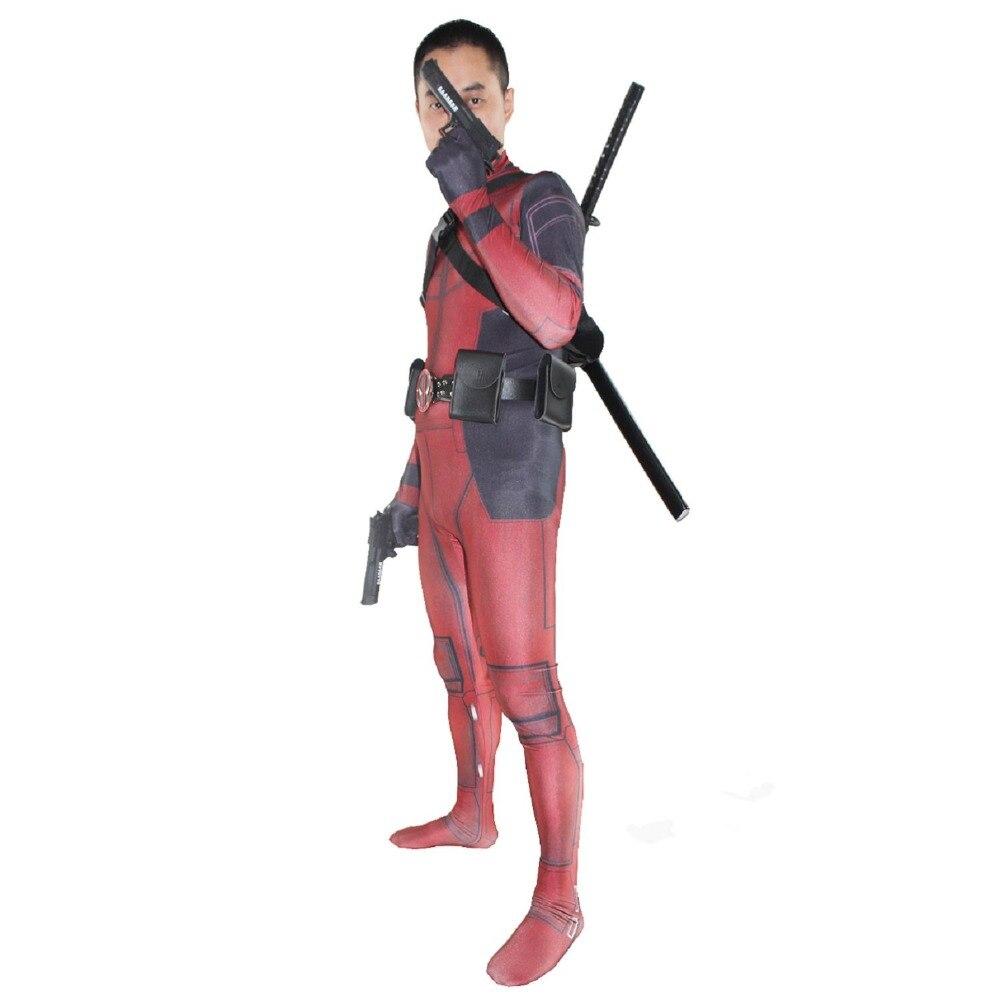 ᗐLmfc deadpool Wade Wilson Cosplay traje para hombres traje de ...