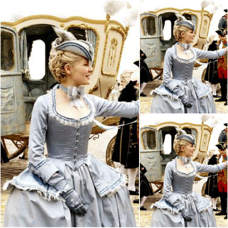 Nou! Costume vintage realizate de clienți Rochii victoriene Rochie de război civil Ducesa Cosplay Lolita rochii C-1103
