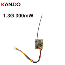 Tamaño mini 200 MW 1.3G inalámbrico FPV transmisor, 1.3G tramsitter, DIY cámara inalámbrica 1.3G Transmisión de molde drone transmisor