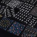 30 Folhas de Multi Cor Da Arte Do Prego Adesivos Decalques Manicure Acessórios de Design Floral 1UBF 2SMU