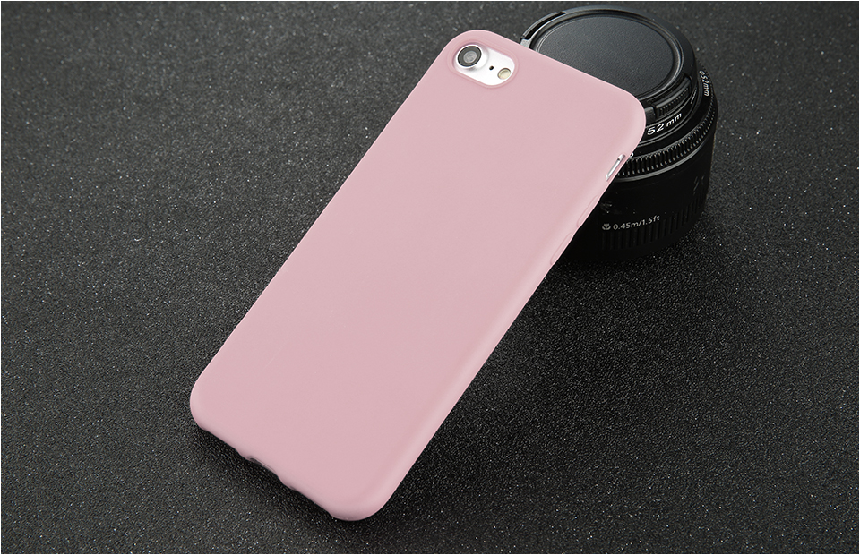 Candy Color Back Cover Case For iPhone 14