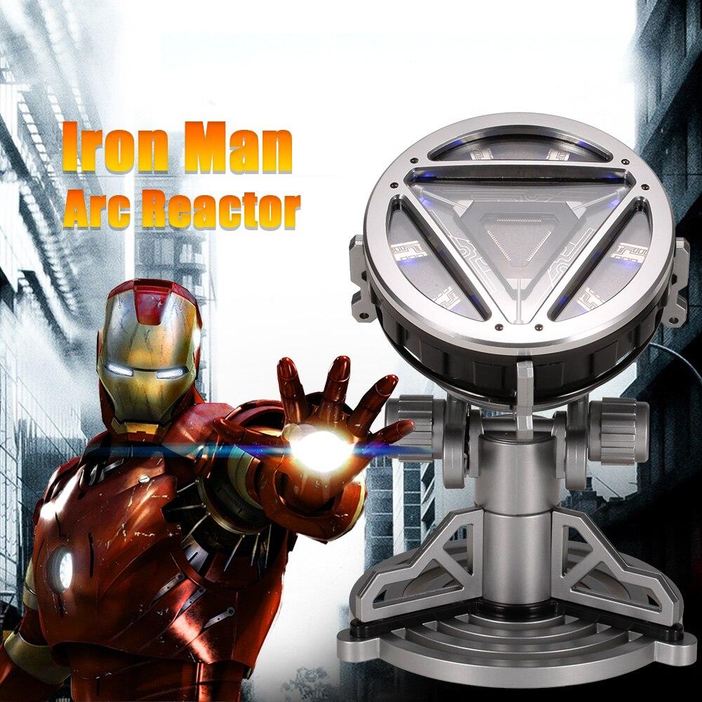 1/1 Iron Man Arc Reactor avec LED Lumière Film Prop pour Amitié Cadeau Collection Film & TV Enfants Jouets pour enfants
